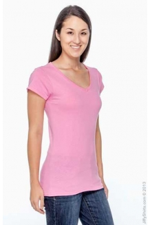 Ladies V-Neck T Shirts ..
