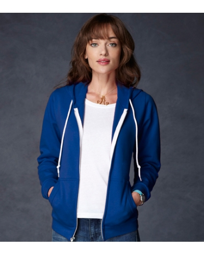 Ladies Zip Hoodies, Anvil