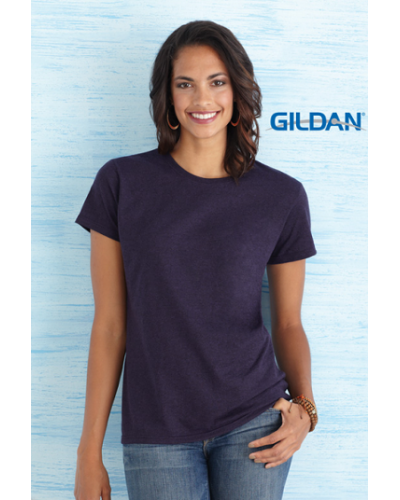 Ladies Fit T-Shirt. Gildan Heavy Cotton