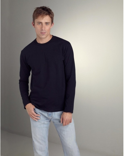Euro Fit Adult Long Sleeve T-Shirt