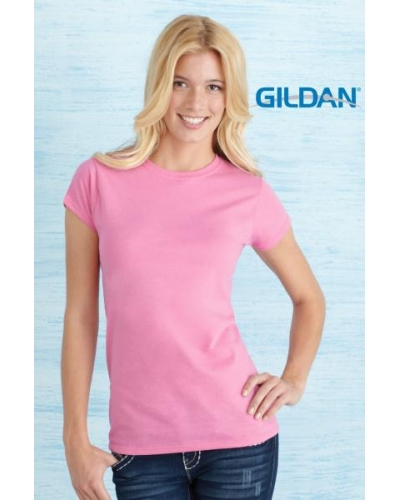 Ladies Fitted T Shirts Gildan Softstyle plain t shirt