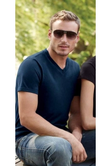 Men's V Neck T Shi..