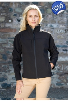 Ladies Classic Softshell Jac..