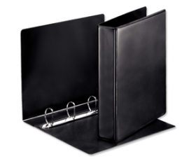 Leather Effect 4 Ring Storage Binder
