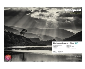 Platinum Gloss Art Fibre 300gsm 24'' x 15m Roll