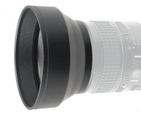 52mm 3-In-1 Rubber Lens Hood