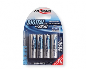 Ansmann  AA 2850 Rechargeable 4-Pack