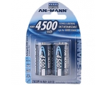 Ansmann C-Type Rechargeable Batteries 2-Pack