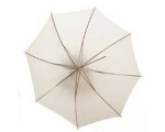 90cm White Translucent Umbrella LIT310