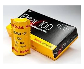 Ektar 100 120 Single Roll