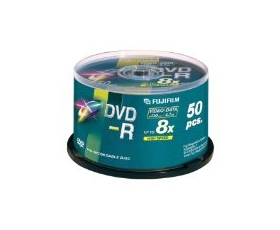 Fuji DVD-R 4.7GB 50 on Spindle