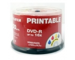 Fuji DVD-R 4.7GB PRINTABLE 50 on Spindle