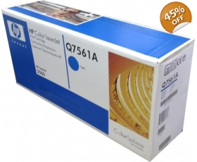 HP Hewlett Packard LaserJet Toner Cartridge Q7561A Cyan