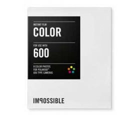 Polaroid Type 600 Colour Film 8 Pictures