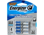 AAA 1.5V Lithium Battery 4-Pack