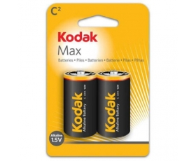 C Type 1.5V Alkaline Battery 2-Pack