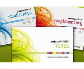 "COLOUR MAGIC FILTER SETS 12 Filters 10x12"" with cutter"