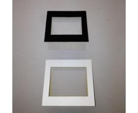 CARD TRANSPARENCY MOUNTS 6 x 4.5cm 100