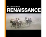 FT CANVAS MATT RENAISSANCE 350gsm 44'' x 15m - R..