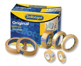 Clear Sellotape 1/2'