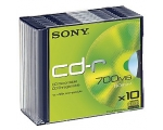 Sony CD-R 10 Disks