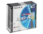 Sony DVD-R 4.7GB 10 Disks