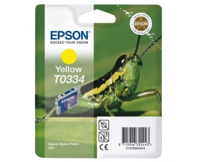 Epson T0334 Yellow Ink Cartridge 17-ml