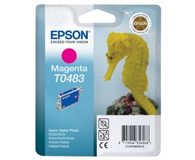 Epson T0483 Magenta Ink Cartridge 13-ml