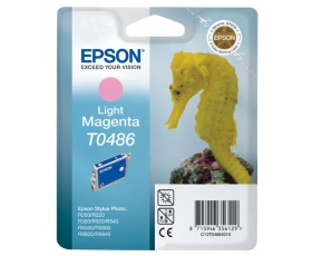 Epson T0486 Light Magenta Ink Cartridge 13-ml