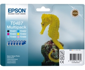 Epson T0487 Complete Set 6 x 13-ml