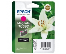 Epson T0593 Magenta Ink Cartridge 13-ml