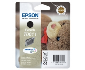 Epson T0611 Black Ink Cartridge 8-ml