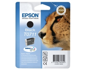 Epson T0711 Black Ink Cartridge 7-ml