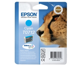Epson T0712 Cyan Ink Cartridge 5-ml