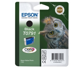 Epson T0791 Black Ink Cartridge 11.1-ml