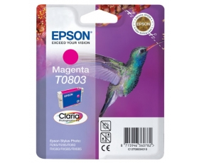Epson T0803 Magenta Ink Cartridge 7-ml
