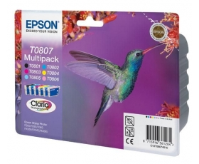Epson T0807 Complete Set 6 x 7-ml