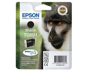 Epson T0891 Black Ink Cartridge 5.8-ml