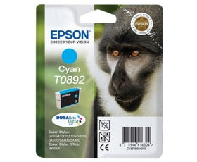 Epson T0892 Cyan Ink Cartridge 3.5-ml