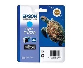 Epson T1572 Cyan Ink Cartridge 29.5-ml