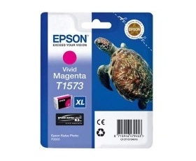 Epson T1573 Vivid Magenta Ink Cartridge 29.5-ml