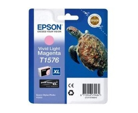 Epson T1576 Vivid Light Magenta Ink Cartridge 29.5-ml
