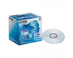 TDK DVD-R 4.7GB 10 Disks