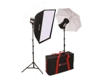 Halogen Softbox & Umbrella Kit LIT122