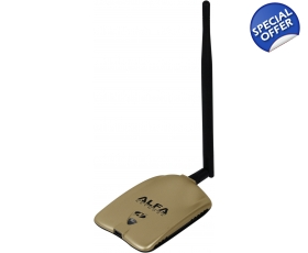 CLEARANCE ITEM AWUS051NH V2 Alfa Network  A/B/G/N wireless Dual Band UK 2.4/ 5GHz