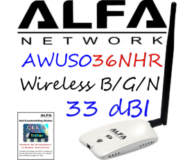 AWUS036NHR Alfa Network V2 b/g/n Long-Range USB Adapter rtl8188ru