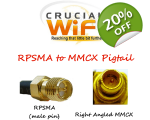 MMCX Right Angle Plug t..