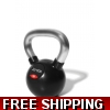 Chrome/rubber Kettlebell 10KG with FRE..
