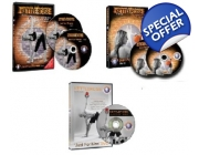 Kettlercise Just For Women VOL I & Vol II PLUS Just For Men DVD Kettlebell Workout Set