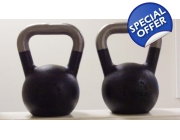 Pair of 4kg Pro Range Kettlebells with FREE P&P